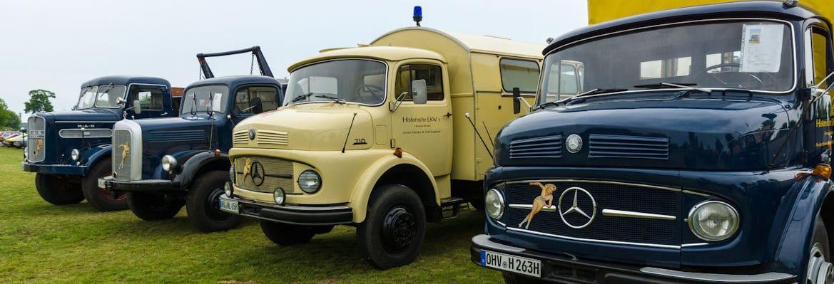 oldtimerverzekering vrachtauto